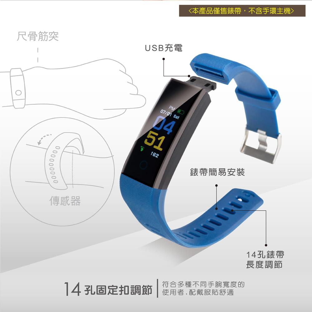 【E-books】V5 智慧手環錶帶 2
