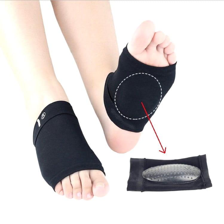 薄型足弓矽膠按摩點彈性護脚墊 足弓襪 足弓墊 扁平足保護墊(一組1雙)【AF02203】 10