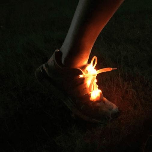 【LED 三段式發光鞋帶】 2