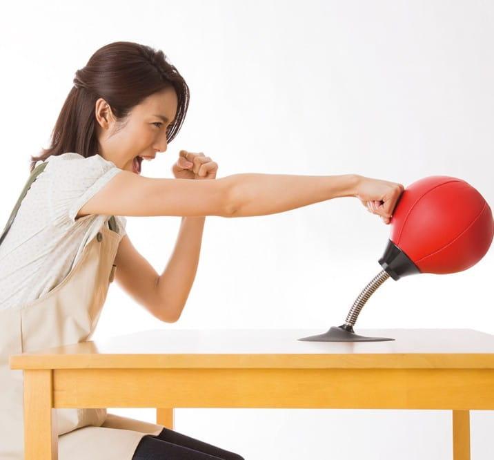 【SUNFAMILY】日本進口 解除壓力拳擊球 2