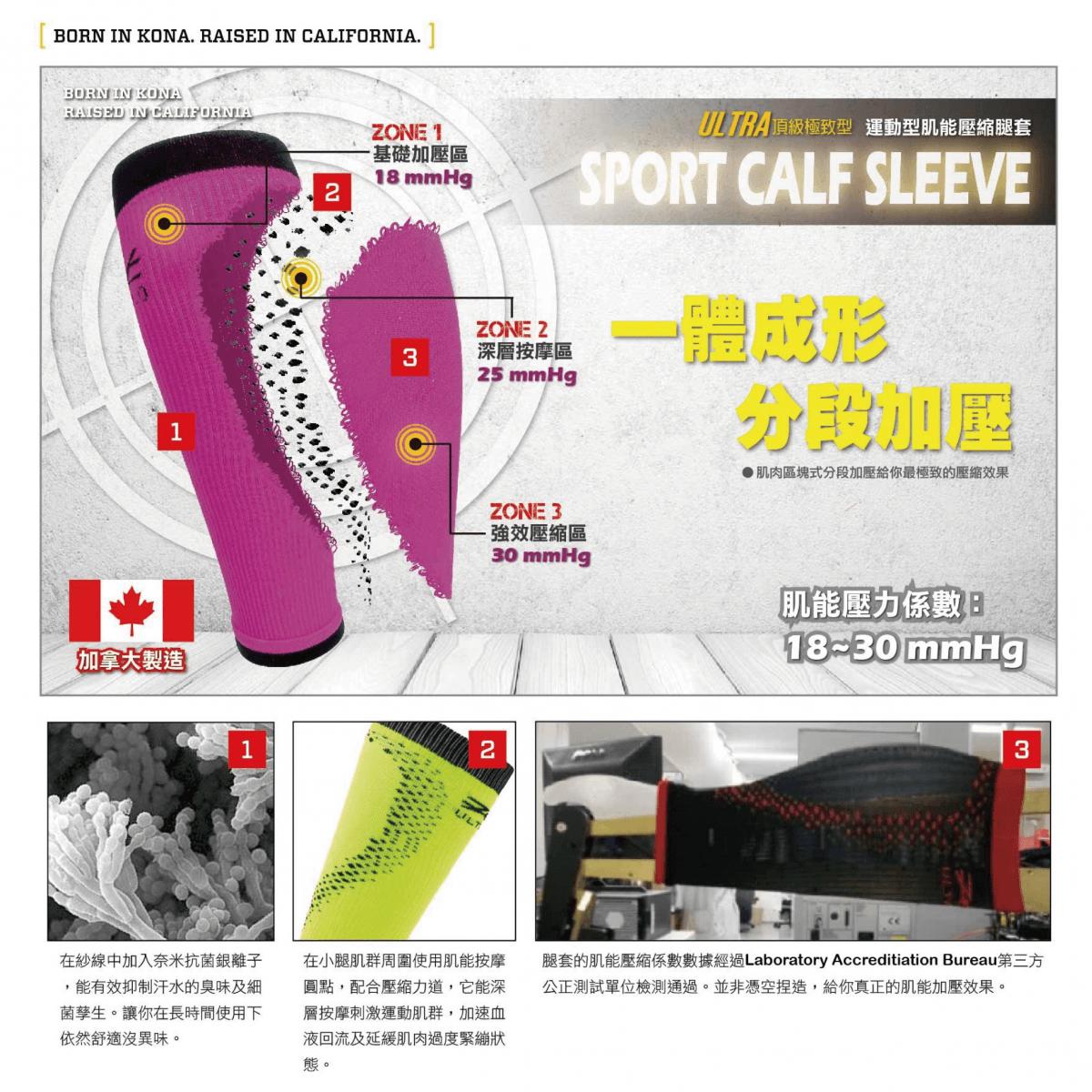 【ZOOT】 頂級運動型肌能壓縮腿套 1