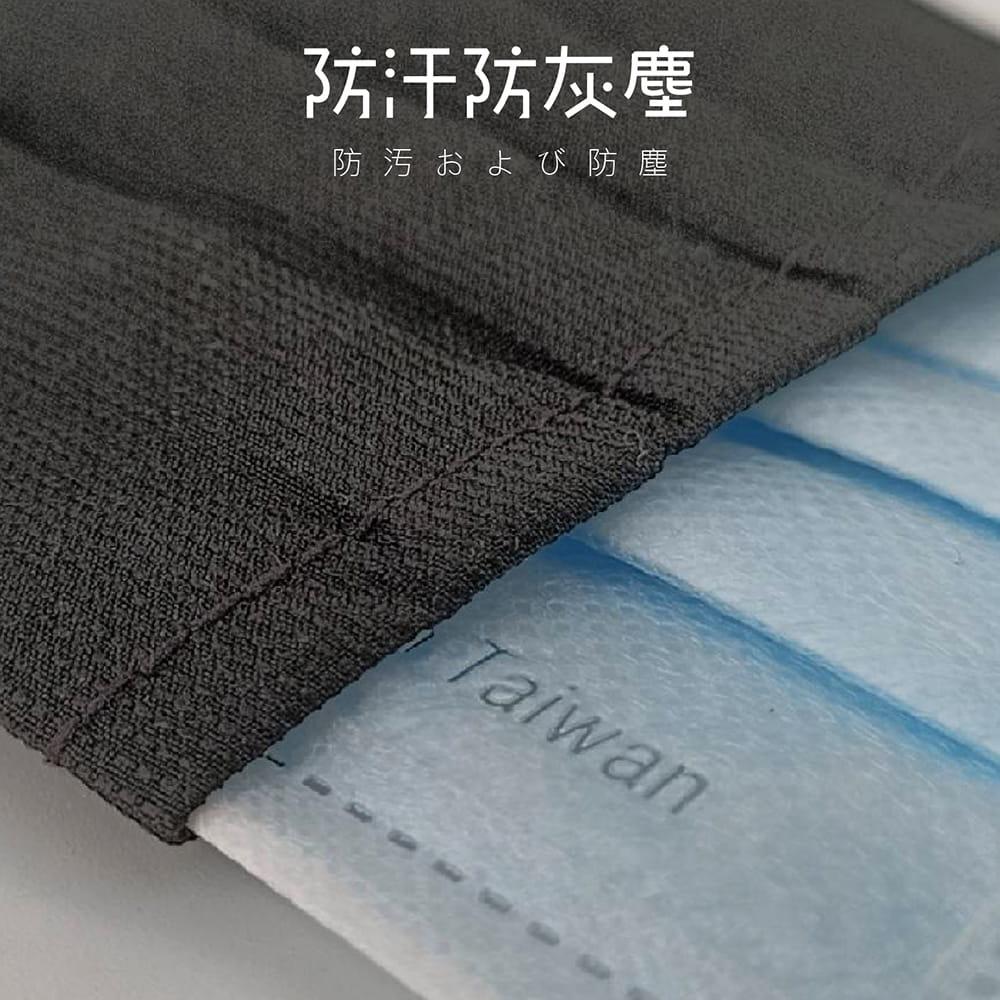 【MIT台灣製造-100%純棉口罩套】兒童/成人款 多色任選 3