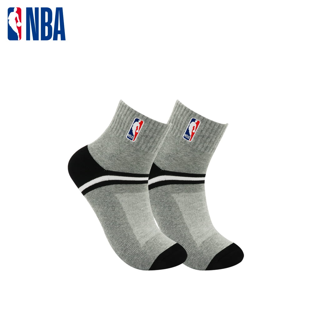 【NBA】 經典刺繡束腳底網眼毛圈短襪 5