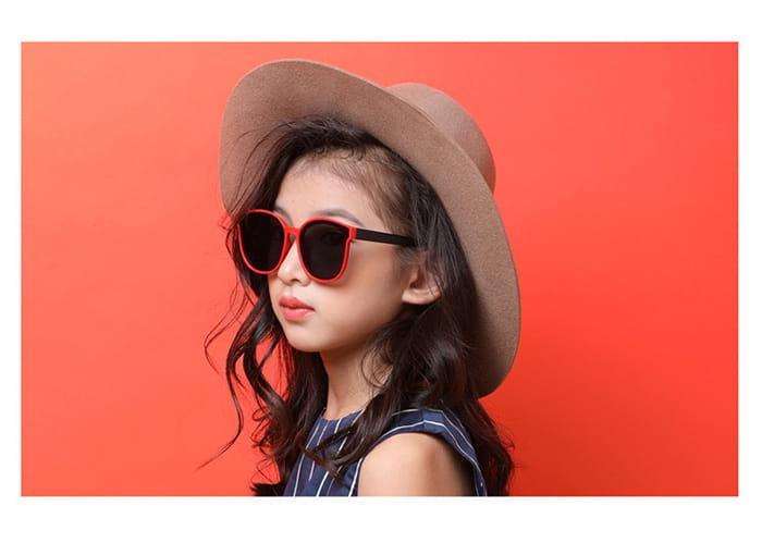 【suns】兒童時尚偏光墨鏡  抗UV (可扭鏡腳 鑑驗合格) 5