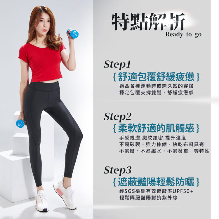 【BeautyFocus】男女機能驗證運動壓力褲5821-22 5