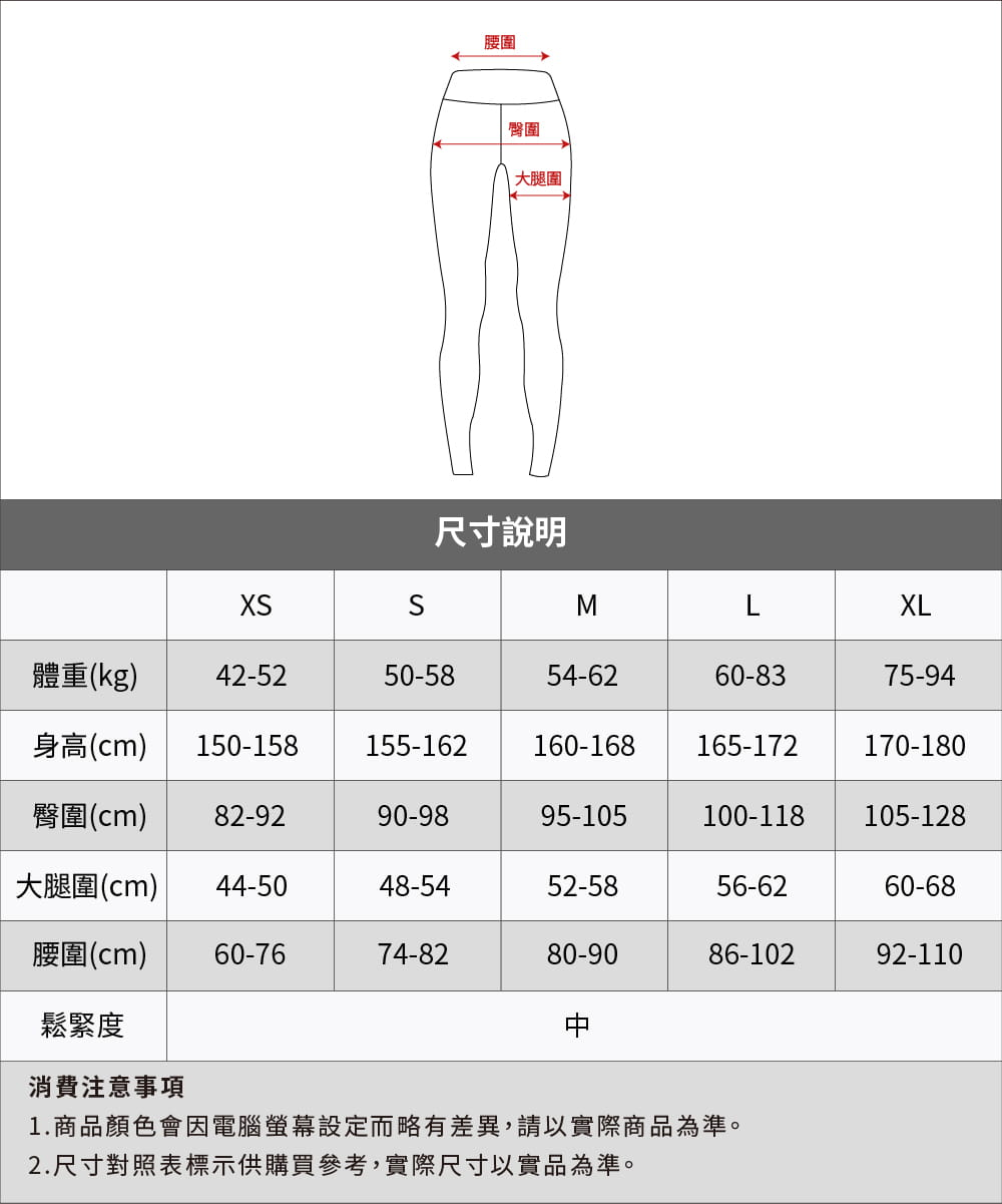 【Attis亞特司】膠原蛋白藍網緊身壓力褲 9