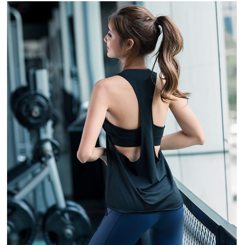 【JAR嚴選】運動健身速乾機能顯瘦背心 10