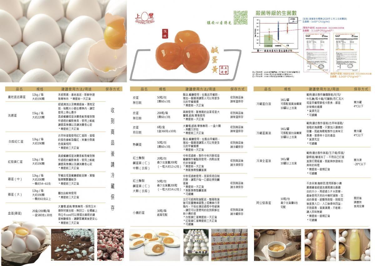 小農的蛋30顆(新鮮無藥殘無抗生素的雞蛋)-上豐蛋品有限公司(雞蛋.蛋白液.香蛋) 7