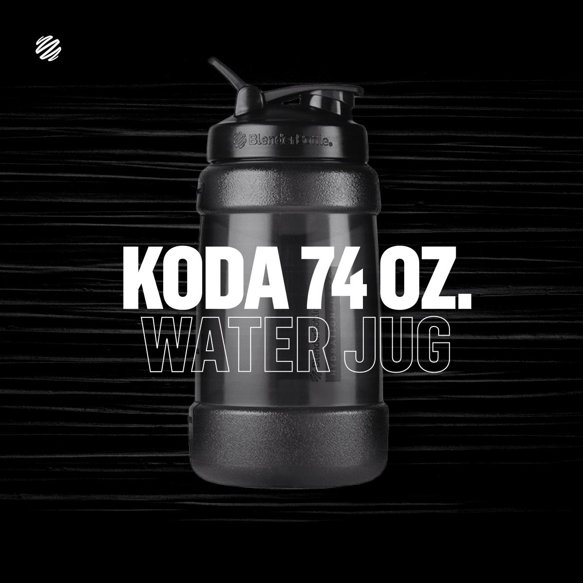 【Blender Bottle】Koda系列 巨無壩水壺 一天水的需求量 2.2公升 4
