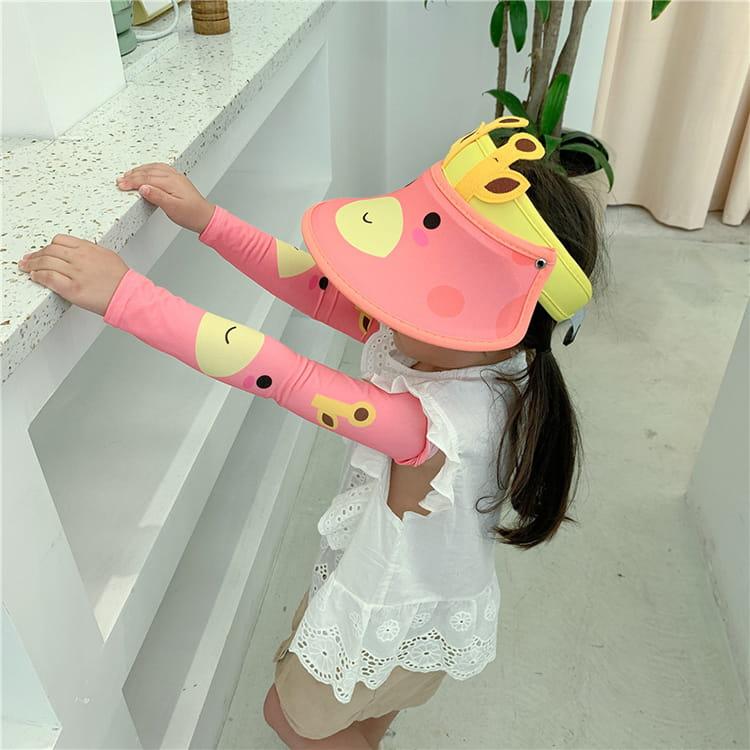 【JAR嚴選】兒童涼感防曬遮陽帽 (送袖套) 15