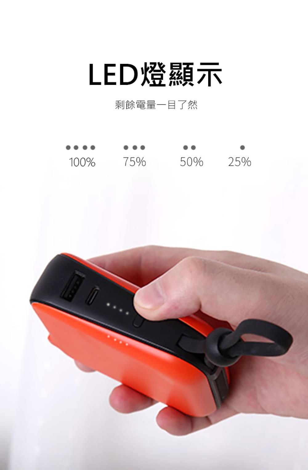 idmix  10000 MFI 旅充式行動電源(CH05)-Lightning版 6