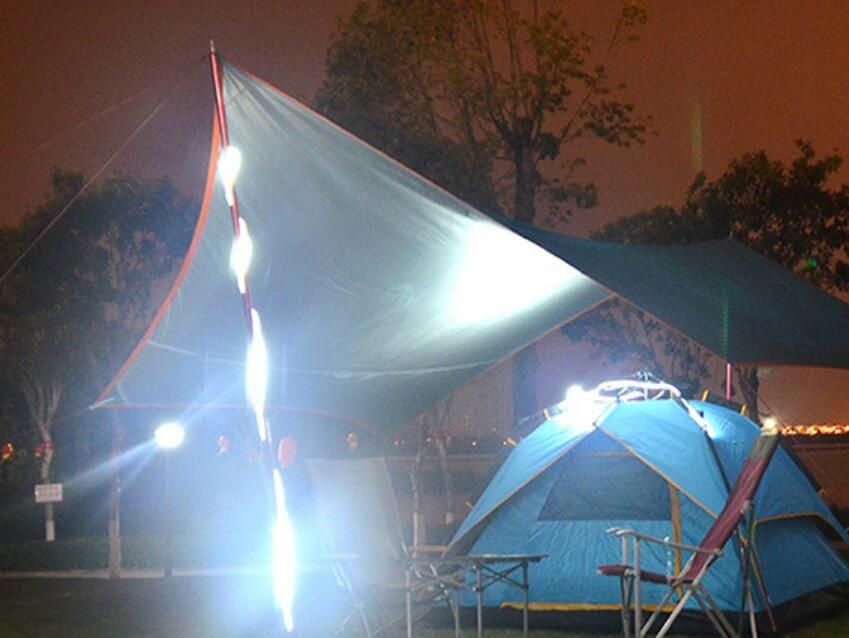暖黃色~ 露營燈LED多功能防水帳篷天幕燈條 3