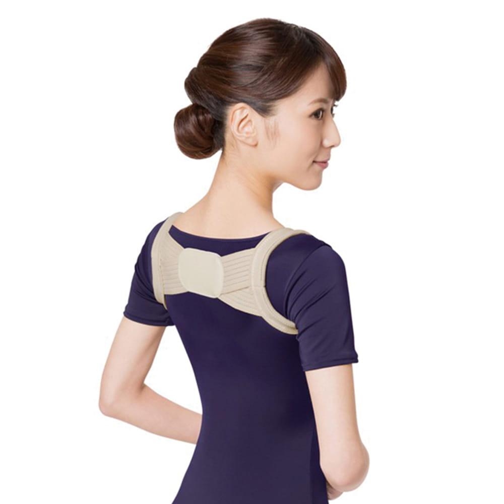 【SUNFAMILY】日本原廠獨家進口 防駝背矯正美姿肩帶(共兩色) 0