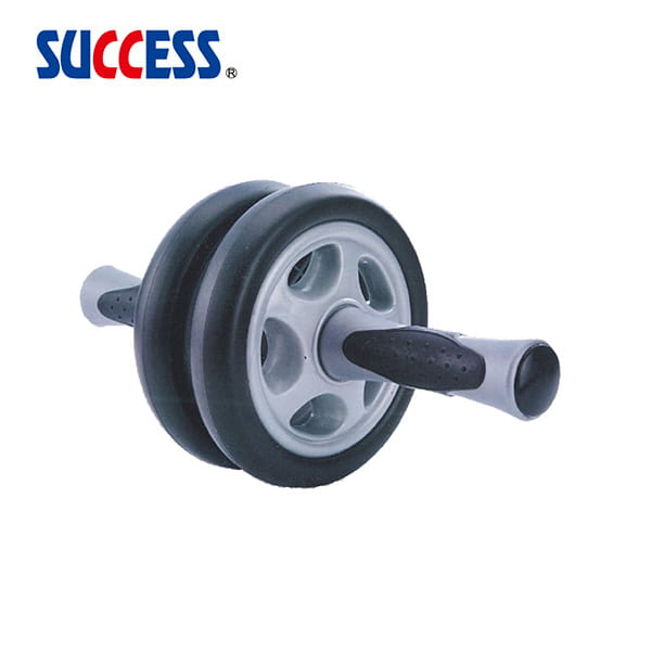 居家防疫運動組 成功 伏地挺身器(熨斗型)S5205+防滑健腹雙輪 S5204 2