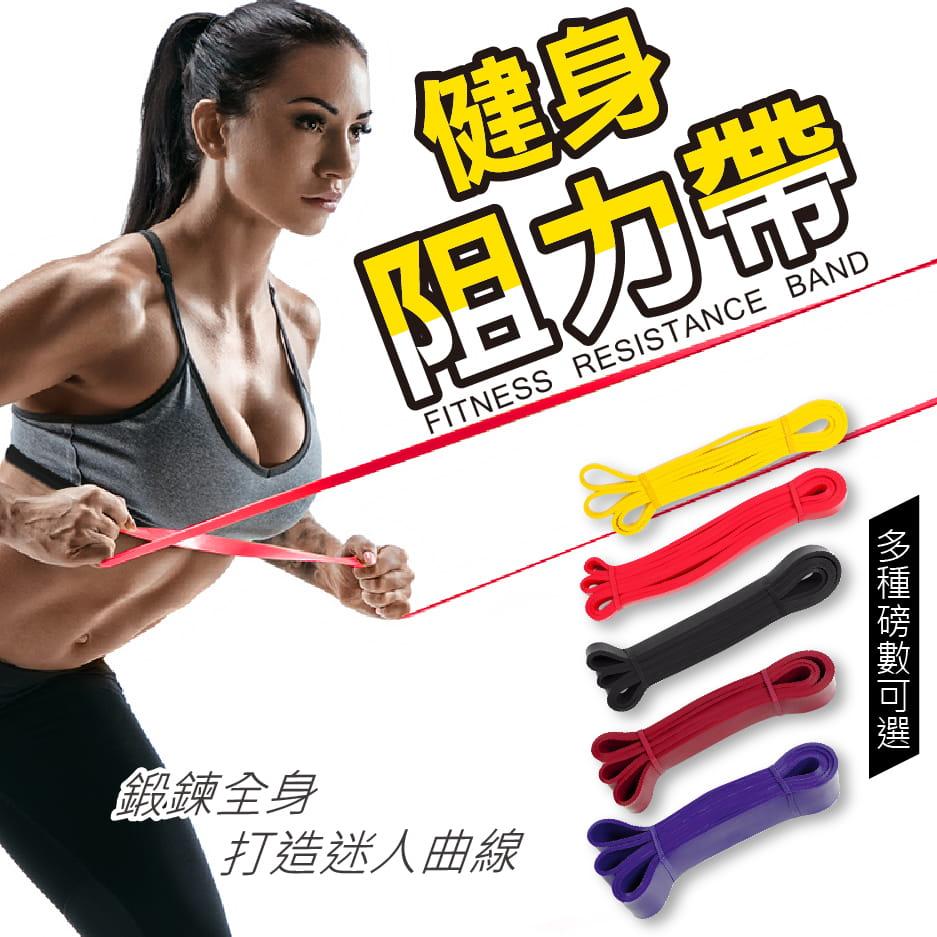 國際級阻力帶 100磅 彈力帶 阻力繩 重訓 健身 訓練 0