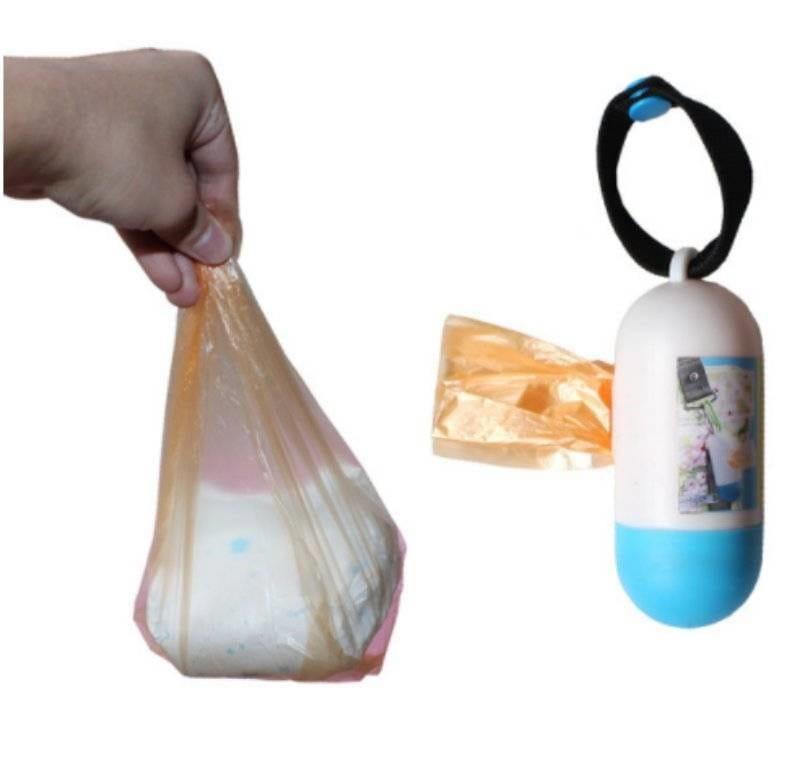 膠囊型隨身垃圾袋 0