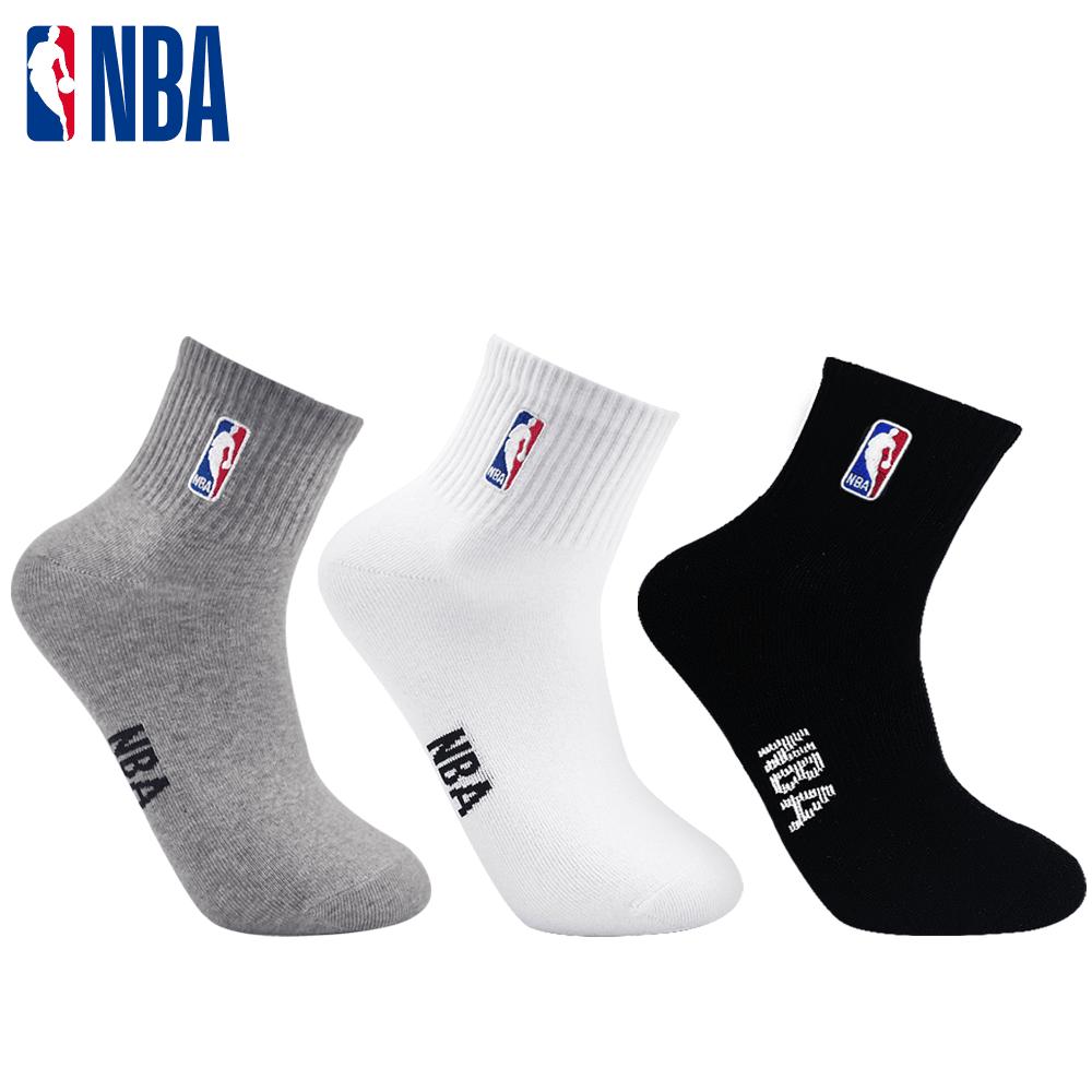 【NBA】襪子 平版襪 短襪 LogoMan刺繡短襪 0