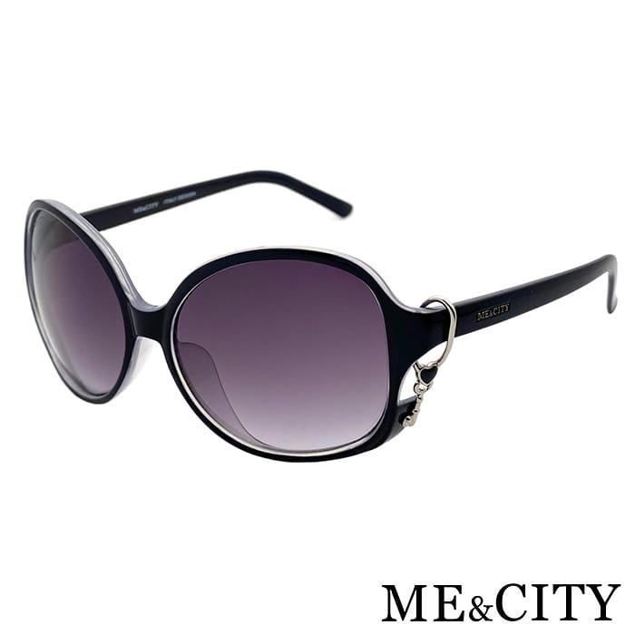 【ME&CITY】 甜美心型鎖鍊太陽眼鏡 抗UV (ME 1223 L01) 7