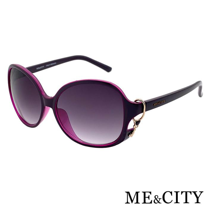 【ME&CITY】 甜美心型鎖鍊太陽眼鏡 抗UV (ME 1223 H02) 7