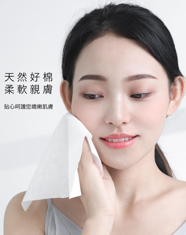 【防疫必備】SGS親膚純棉防疫口罩墊片棉柔巾 100片/包 4