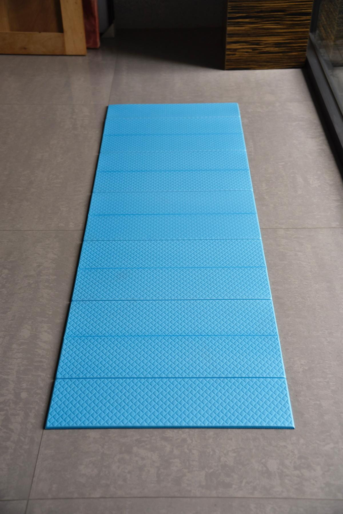 【QMAT】 12折疊瑜珈墊 一般雙色 7
