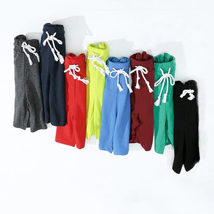 棉質休閒運動短褲 薄款透氣 抽繩男女款 舒適健身褲 9