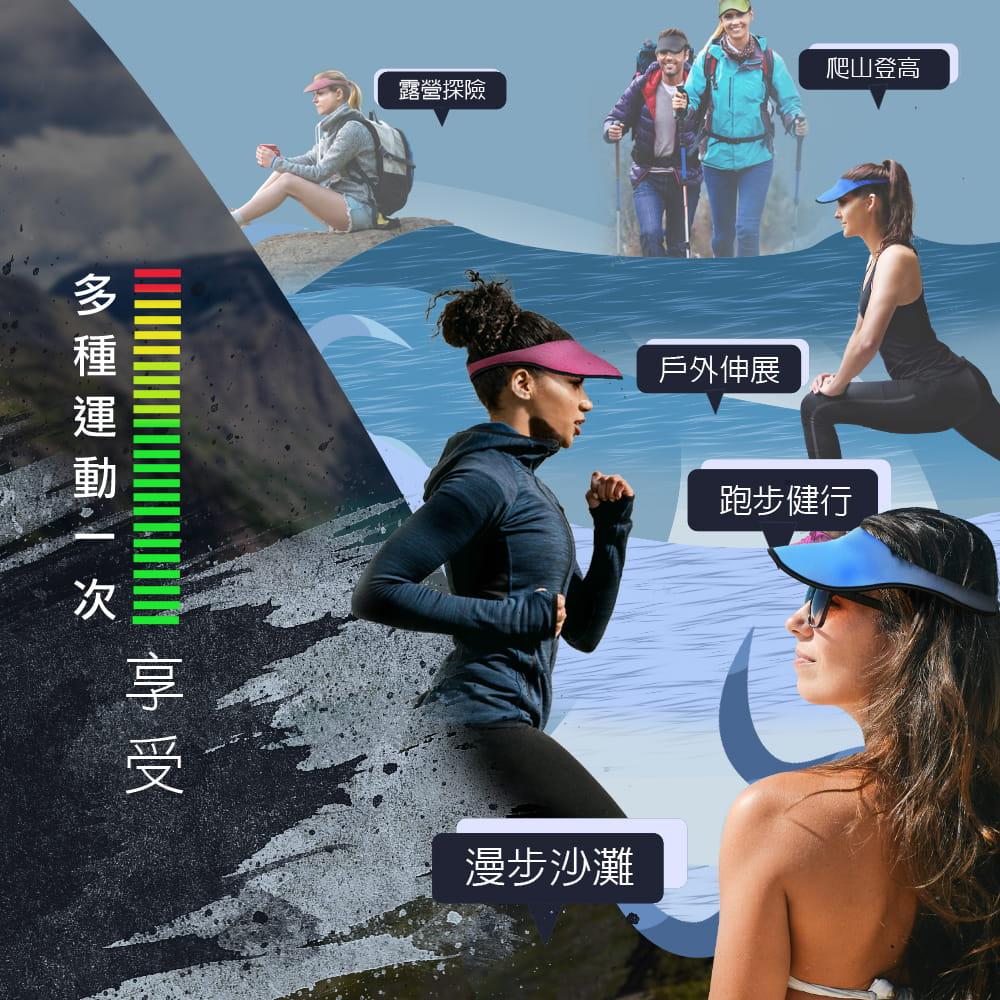 【MACMUS】抗UV防曬遮陽帽|男女款 4