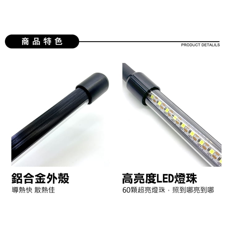 【Just-Play】多功能 LED護眼USB夾燈 1