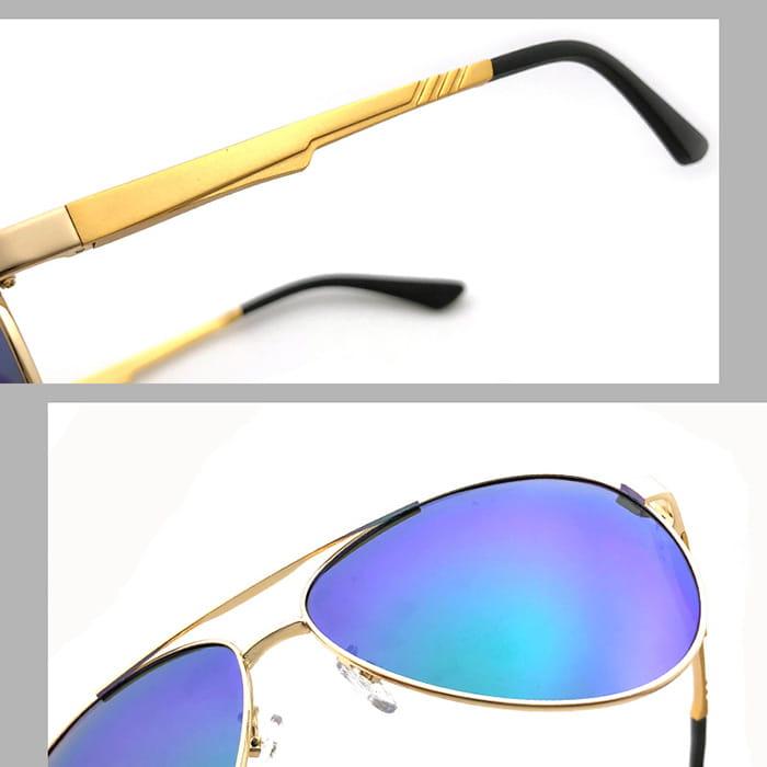 【suns】鋁鎂合金飛行員偏光太陽眼鏡 抗UV (W0201) 8