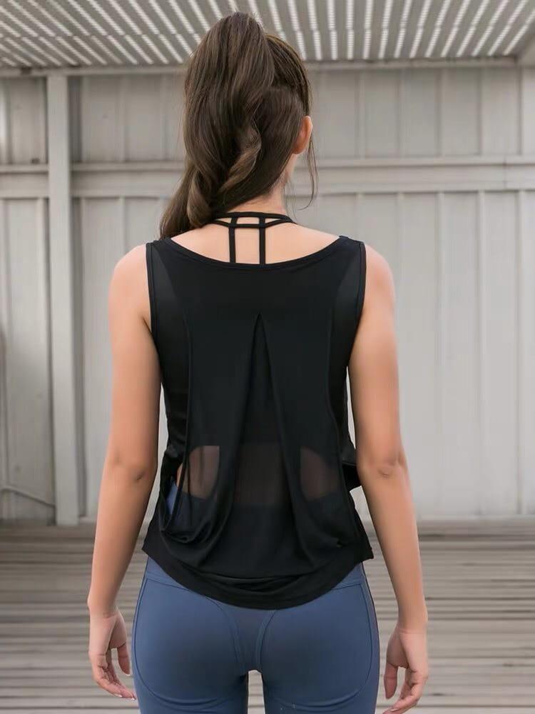 運動休閒內衣 背心上衣 運動韻律有氧跑步瑜珈LETS SEA-KOI 3