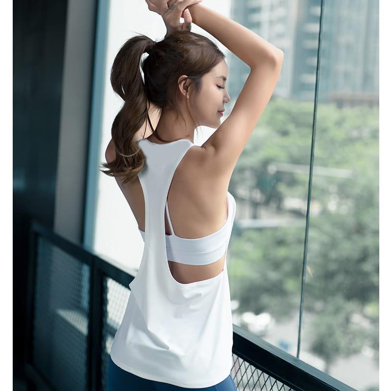 【JAR嚴選】運動健身速乾機能顯瘦背心 9