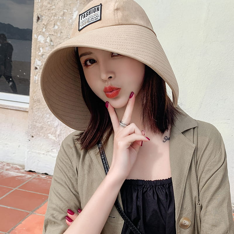 【JAR嚴選】時尚春夏360度抗UV防曬遮陽帽(遮臉修飾 大帽簷網紅爆款) 5