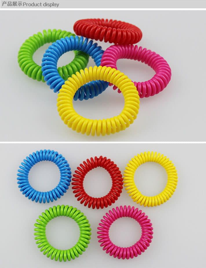 【JAR嚴選】純天然香茅圈式隨身驅蚊手環 (一組十入隨機出色) 5