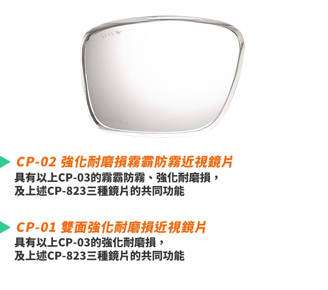 SABLE黑貂光學-專屬球類運動眼鏡CP-823(標準款-無保護墊)+SP-03(平光精緻鍍膜鏡片) 12