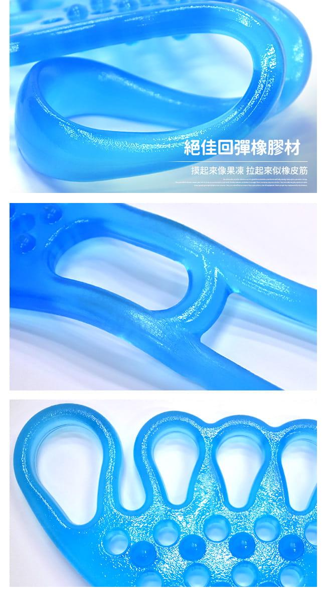 台灣製造!!五指型QQ果凍拉力繩   果凍繩彈力繩 9