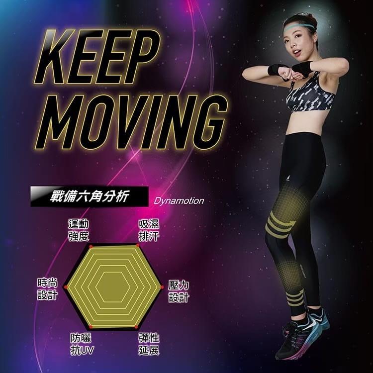 【AREXSPORT】升級版輕量男女壓縮基礎型中腰機能運動褲 4