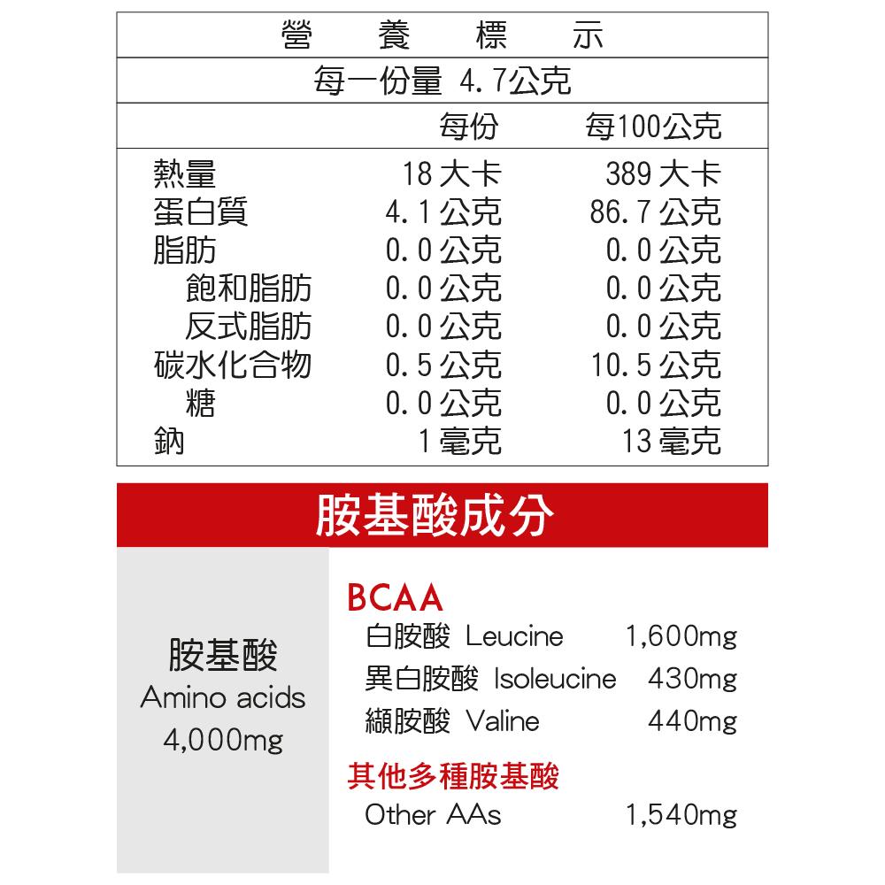【aminoVITAL】GOLD【黃金級胺基酸】 4