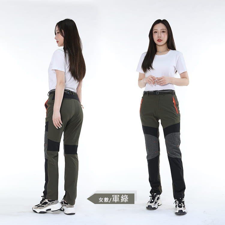 薄款拼色超彈力速乾褲 加大碼工作褲休閒褲 M-8XL碼【CP16046】 9