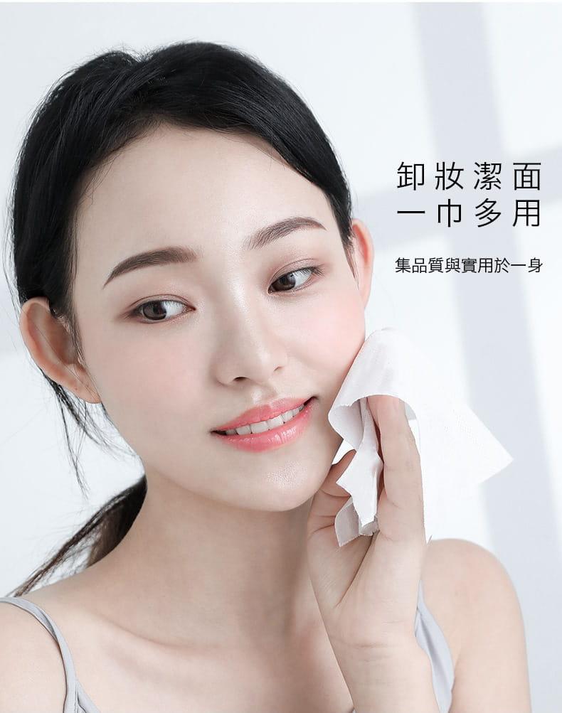 【防疫必備】SGS親膚純棉防疫口罩墊片棉柔巾 100片/包 3