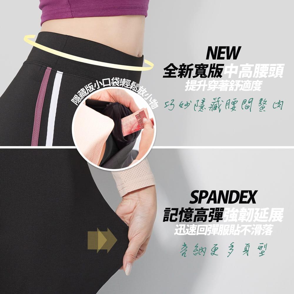 【BeautyFocus】新肌感三大驗證抗縮運動休閒褲 9