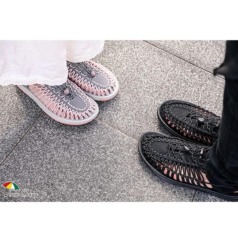【Leon Chang】【LC雨傘】 編織運動涼鞋 7
