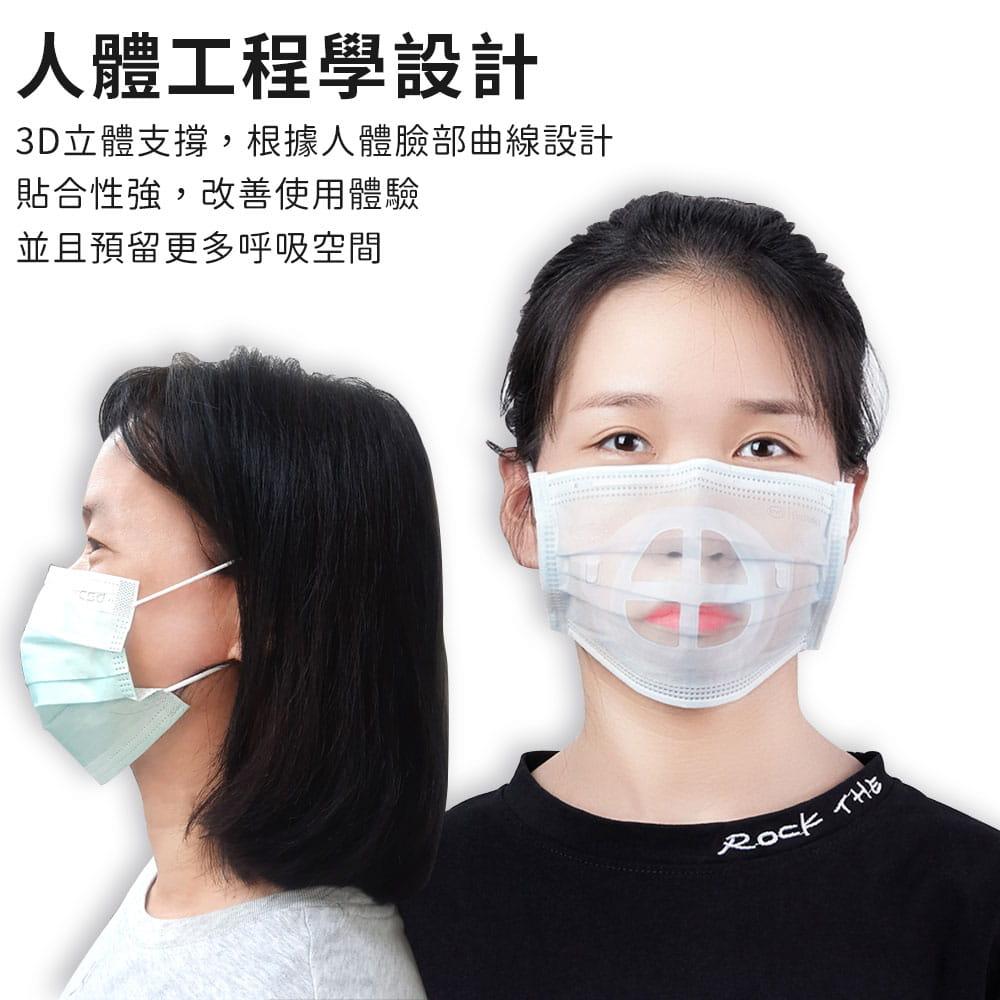 升級可水洗透氣口罩支架 5