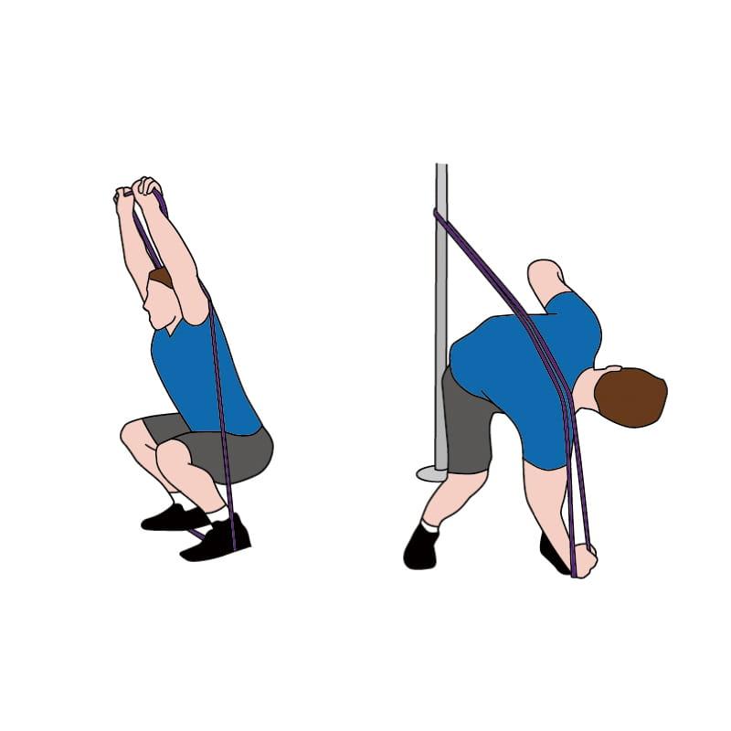 成功牌乳膠訓練拉力帶(進階用) 5