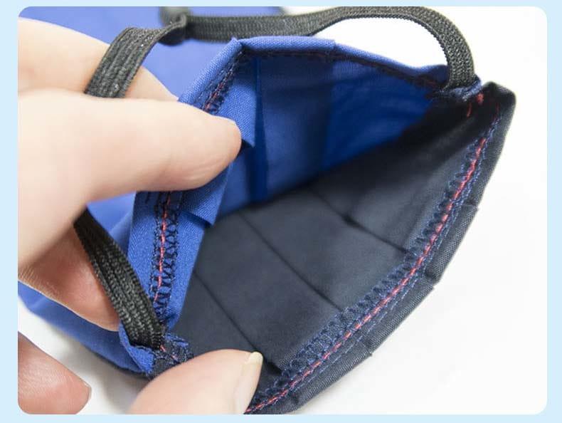【ELASTI】台灣製MIT成人純棉布可水洗防護口罩(送50片不織布濾片) 5