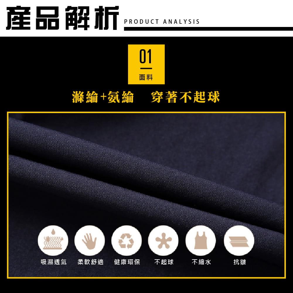 【NEW FORCE】清爽透氣速乾健身短褲-2色可選 2