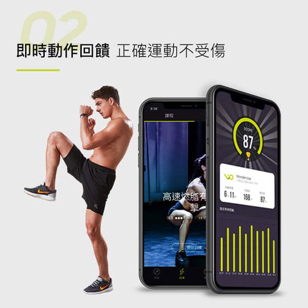 【Wonder Core】Wondercise光感應體力檢測錶+空中健身學院會員卡一年 12