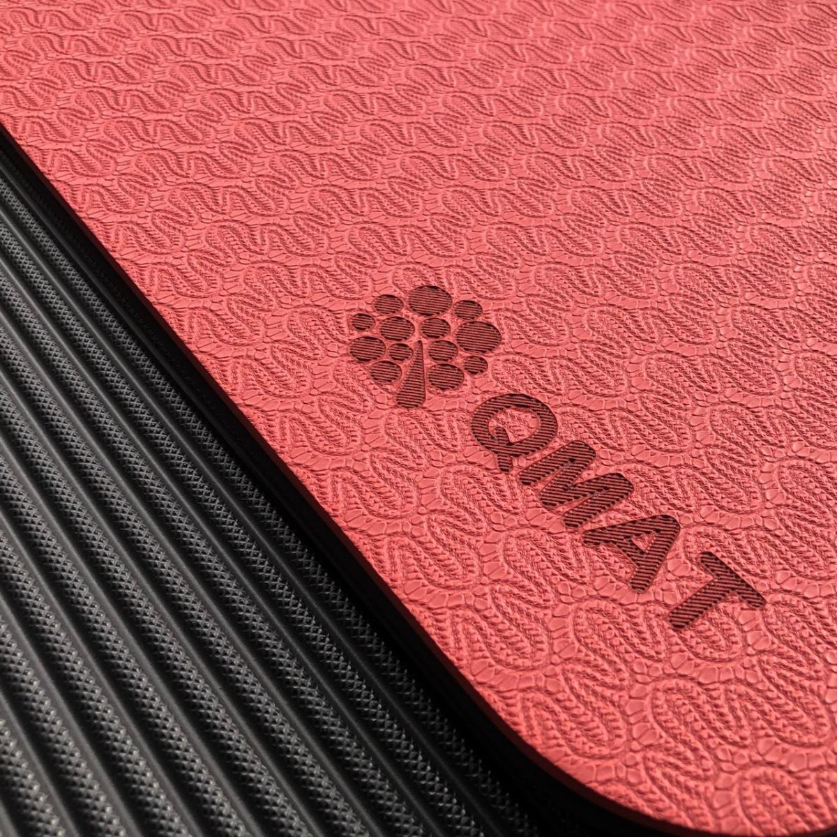 【QMAT】 10mm 雙色運動墊(共六色) 5