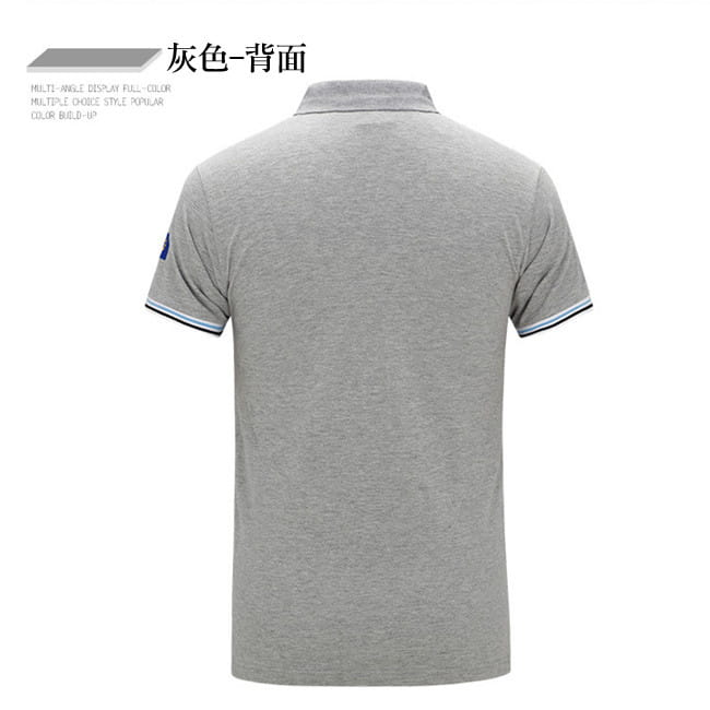 空軍MA1刺繡翻領吸汗透氣純棉短袖POLO衫 7色 M-4XL碼【 CW434212】 13
