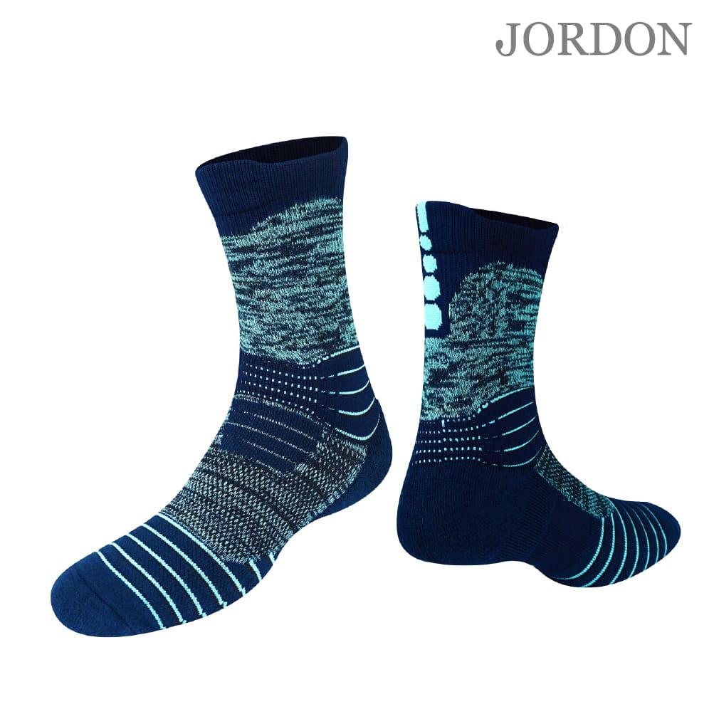 【JORDON】橋登 超強防護 彈力避震 強力排汗 機能襪 0