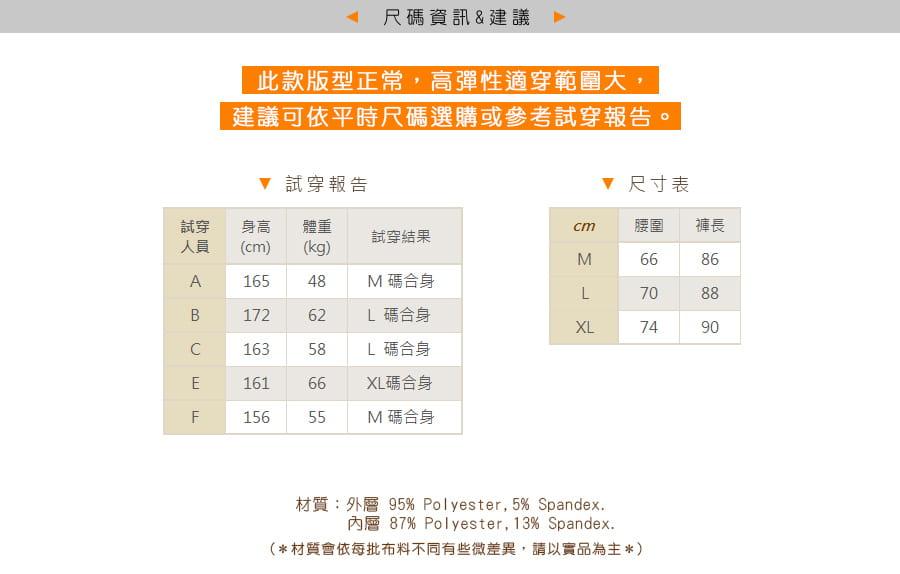 【Un-Sport 高機能】多款任選-異質拼接顯瘦假兩件長褲(瑜伽/健身/路跑) 16